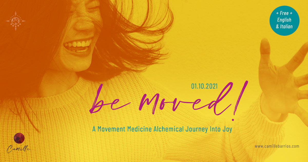 be moved an alchemical movement medicine journey into joy